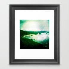 Wet and Rusting Framed Art Print