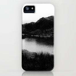 Fairy Glen, Isle of Skye, B/W iPhone Case