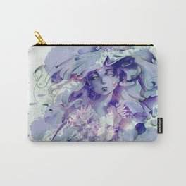 Water Crystal Goddess Carry-All Pouch