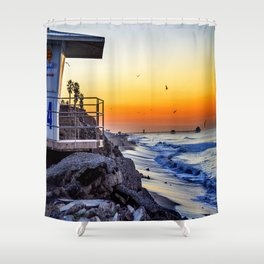 Roll With It Shower Curtain