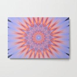 At Peace Kaleidoscope Metal Print