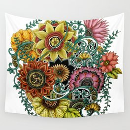 Flower explosion Wall Tapestry