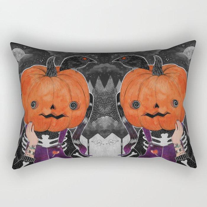 GOSH! I'M A PUMPKIN! Rectangular Pillow