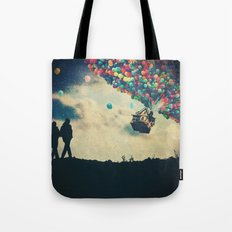 Walk On Tote Bag