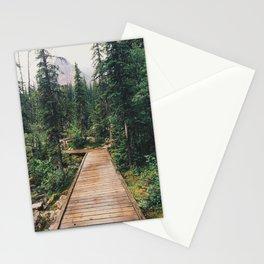 Moraine Lake Trail Stationery Cards