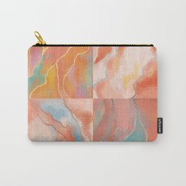 marble tiles & glitter Carry-All Pouch