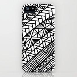 Quick Doodle iPhone Case