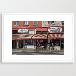 Schwartz's Smoked Meats Framed Art Print