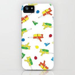 Waterguns Pattern iPhone Case