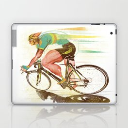 The Sprinter, Cycling Edition Laptop & iPad Skin