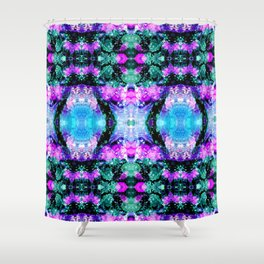 Spring Psychedelics Shower Curtain