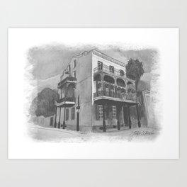 Lafitte Guest House Art Print