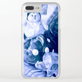 Pondering Clear iPhone Case