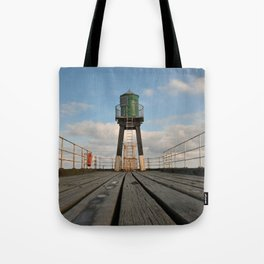 Whitby pier Tote Bag