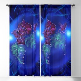 Abstract in perfection - Fertile Imagination Rose 2 Blackout Curtain