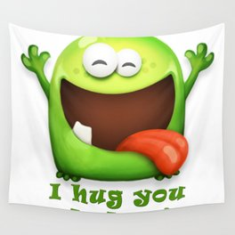 Happy Monster Wall Tapestry