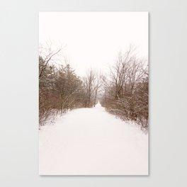 the quiet miles Canvas Print