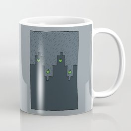 Rain in a Northen City Coffee Mug