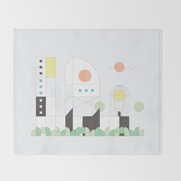 Forma 4 by Taylor Hale Throw Blanket