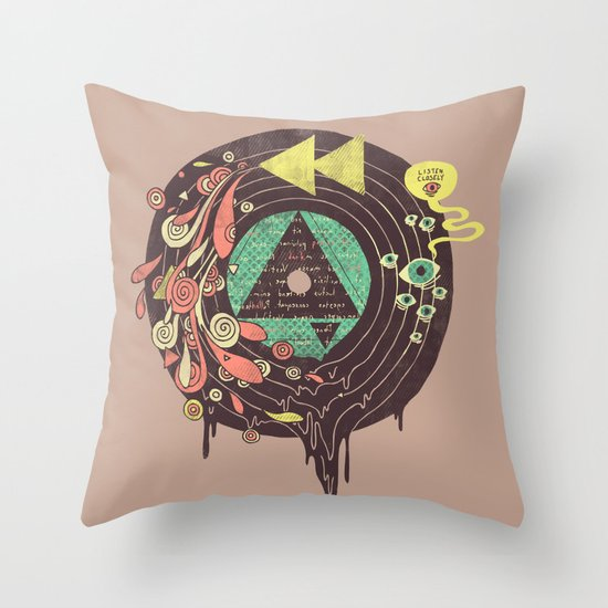 Subliminal Throw Pillow