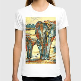 AnimalArt_Elephant_20170903_by_JAMColorsSpecial T-shirt