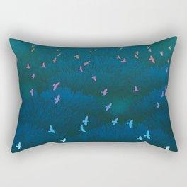 Amazonian Flight Rectangular Pillow