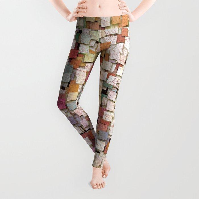 Aztec Vintage Pattern 10 Leggings