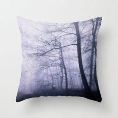 indigo woods Throw Pillow