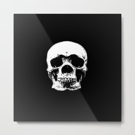 Deaths head Metal Print