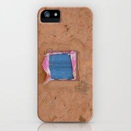 window in the mud iPhone Case