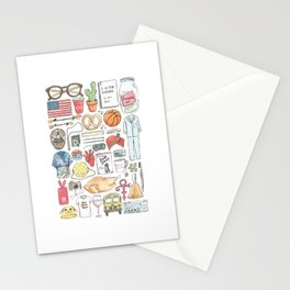 New Girl Stationery Cards