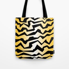 Polynoise tiger Tote Bag