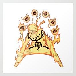 Naruto ARt Art Print