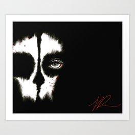 Death is a WoMaN Art Print