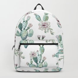 Cactus Pretty Pink + Green Backpack