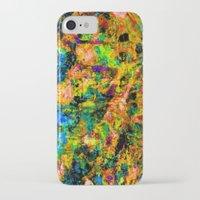 chandelier iPhone & iPod Cases featuring Chandelier by Peta Herbert