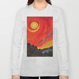 The eternal firey Sun Long Sleeve T-shirt