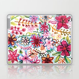 Misty meadow Laptop & iPad Skin