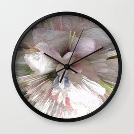 Abstract apple tree Wall Clock