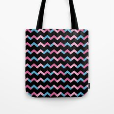 Geometric Chevron Tote Bag