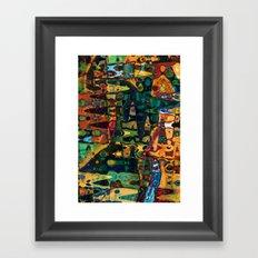 Muse Framed Art Print