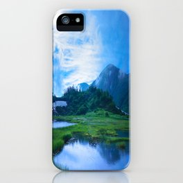 Stormy Japan Alps  iPhone Case