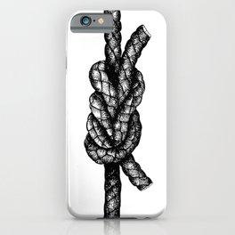 Surgeon's Knot iPhone Case
