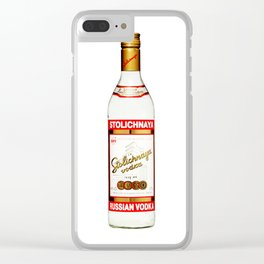 Russian style 1 Clear iPhone Case