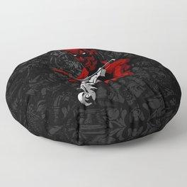 Devil's Trill Floor Pillow