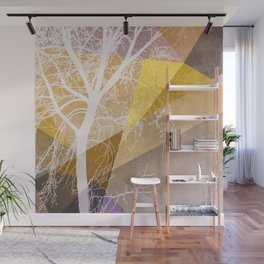 TREE INTO GEOMETRIC WOLRD NO4 Wall Mural