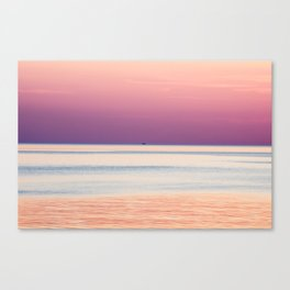 Solo Pink Canvas Print