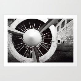 propeller Art Print