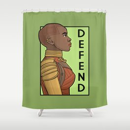 Defend Shower Curtain
