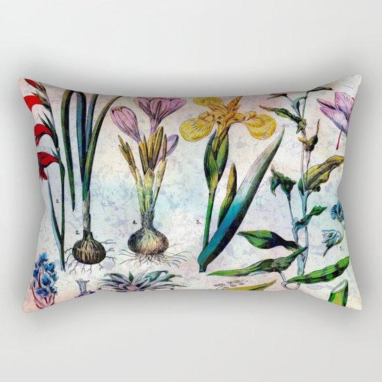 Bright Botanical Rectangular Pillow